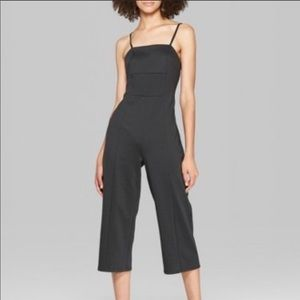 Wild fable black jumpsuit